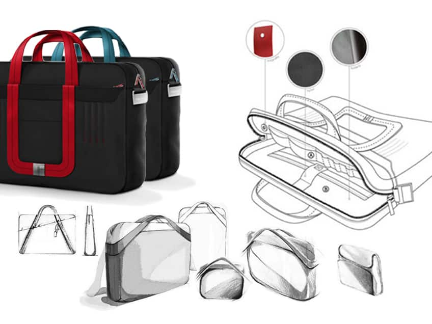bags sketches concept ondesign studio
